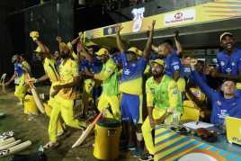 csk won the match